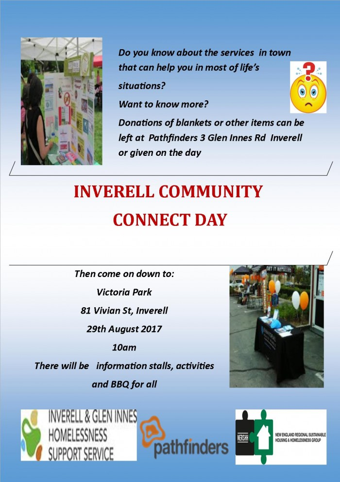 Community Connect Day flyer Inverell 2017